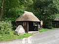 Litton Cheney, thatched bus shelter - geograph.org.uk - 935067.jpg