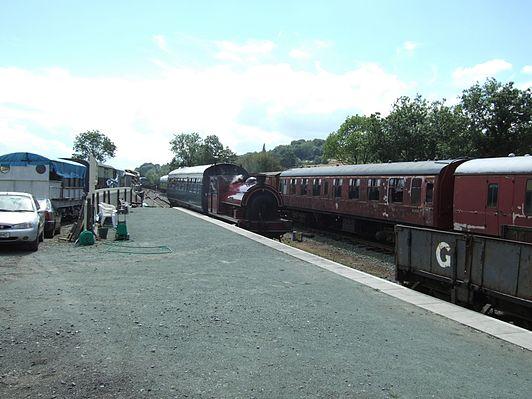 Llynclys South railway station