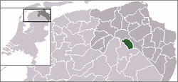 Location of Haren