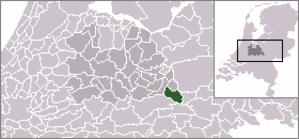 Elst, Utrecht - Image: Locatie Rhenen