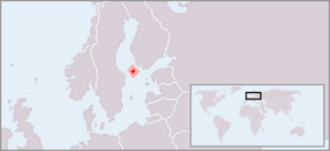 Outline of the Åland Islands - The location of Åland
