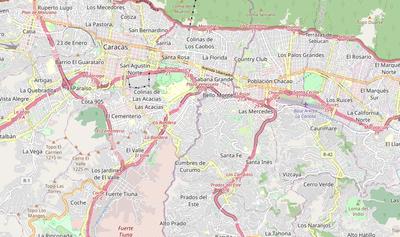 TemplateLocation map Venezuela Caracas Wikipedia