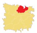 Location of Patli Union in Jagannathpur Upazila.png