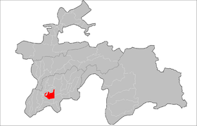 Location of Vakhsh District in Tajikistan.png