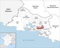 Locator map of Kanton Gardanne.png