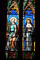 Lodève cathedral Saint-Fulcrain stained glass window385.JPG