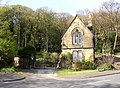 Lodge at the entrance to The Knoll, Baildon - geograph.org.uk - 163759.jpg