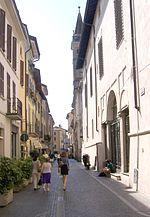 Contrada Lomellini, l'attuale via Incoronata