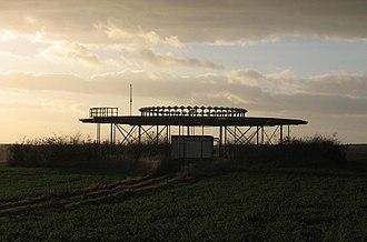Löwenberger Land - VOR ground antenna near Hoppenrade