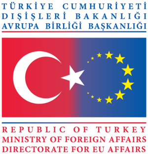 Ministry of European Union Affairs - Image: Logo of the Turkish Application to the European Union