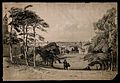 London, seen from beside Flamsteed House in Greenwich park. Wellcome V0013408.jpg