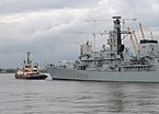 "London MMB »147 River Thames, ""Svitzer Cecilia"" and HMS Montrose.jpg"
