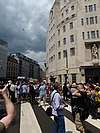 London Pride 2011 BBC Broadcasting House.jpg