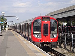 London Underground S7 Stock 21311 on District Line, Ealing Broadway (14280744997).jpg
