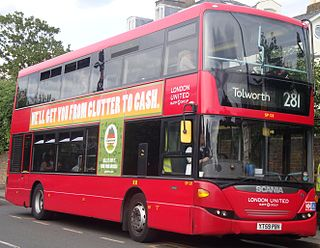 London Buses route 281 London bus route