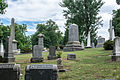 Looking SW across section O 02 - Glenwood Cemetery - 2014-09-14.jpg