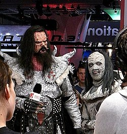 Mr. Lordi and Awa