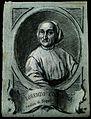 Lorenzo Colorgia. Drawing in black chalk with white heighten Wellcome V0001199.jpg