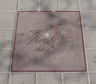 Lorne Michaels - Michaels' star on Canada's Walk of Fame.