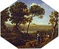 Lorrain - Pastoral landscape with Lake Albano and Castel Gandolfo, 1639.jpg