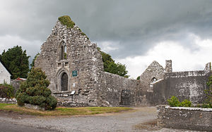 Ruadhán of Lorrha - Lorrha Priory of St. Ruadan