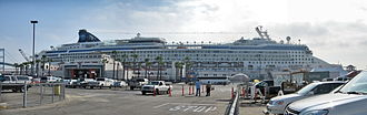 Port of Los Angeles -  Norwegian Star  at the World Cruise Center.