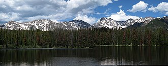 Vail, Colorado - Lost Lake in northern Vail.