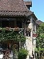 Lot Saint-Cirq-Lapopie Restaurant Le Gourmet Quercynois 29052012 - panoramio.jpg