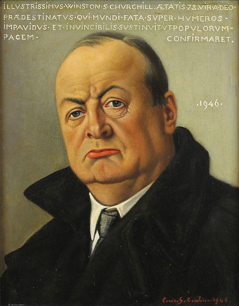 Луи Гюстав Камбье - Портрет Уинстона Черчилля.jpg