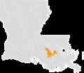 Louisiana Senate District 2 (2010).png