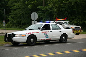 Louisiana State Police - LSP CVPI in 2009.