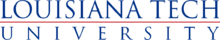 Louisiana Tech University wordmark.png