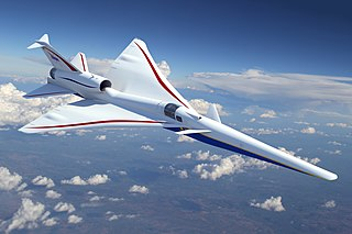 Lockheed Martin X-59 QueSST Experimental supersonic aircraft