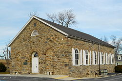 Lower Marsh Creek Presbyterian Church, a historic site in the township
