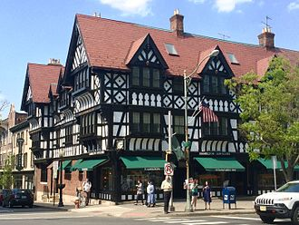 Princeton, New Jersey - Nassau Street, Princeton's main street