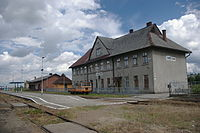Lubaczow Railway Station