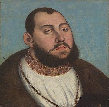 Lucas Cranach d. Ä. - Johann Friedrich I von Sachsen