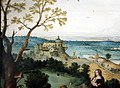 Lucas gassel, fuga in egitto, 1542, 02.jpg