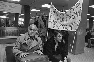 Josip Skoblar - Josip Skoblar (right) and Lucien Leduc in Amsterdam, 1971