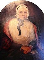 Bust painting of Lucy Mack Smith