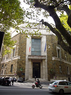 Ministry of Economic Development (Italy) - The main building