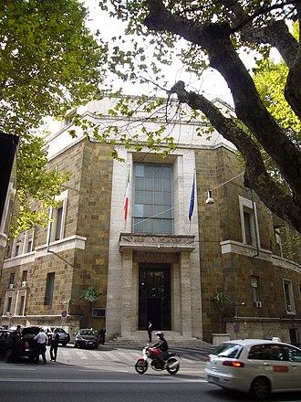 Ministry of Economic Development (Italy) - Image: Ludovisi via Veneto min Corporazioni 1140879