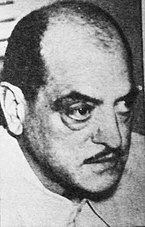 Black-and-white photo of Luis Buñuel, 1968.