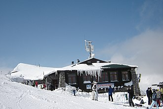 Winter sports - Ski resort Jasná in Central Slovakia