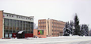 Lukoyanov. Mir (Peace) Square in January.jpg