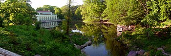 The Lullwater, Prospect Park, Brooklyn, NY, lo...