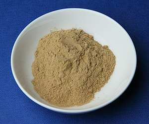 Medicinal clay - German medicinal clay (Luvos Heilerde) consisting of loess, i.e., a mixture of sand, clay, and silt