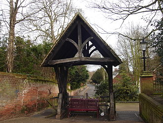 Aylsham - Lychgate at St Michael's Church