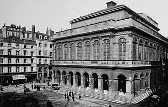 Opéra Nouvel - The old opera house at the beginning of the 20th century