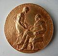 Médaille Centenaire de la naissance de Michel Eugène CHEVREUL (1780-1889) chimiste français. Graveur Oscar ROTY (1846-1911) (2).JPG